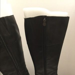 Shoes - 🛑 REDUCED-Black Leather Ridding Boots Size 8 WIDE
